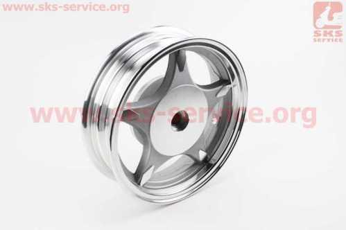 """Диск задний литой MT2,50x10 Z19 для 4Т (бараб. торм., d-110мм) """"5 лучей"""" серый, тип 1"""