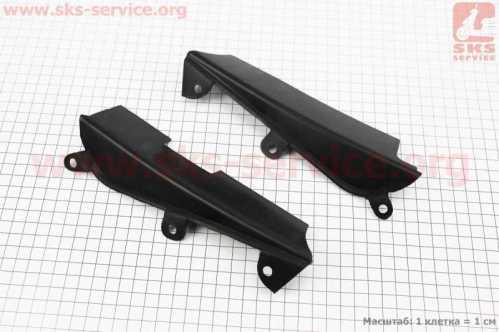 Viper - V200 пластик - боковая соединительная панель лев, прав к-кт 2шт