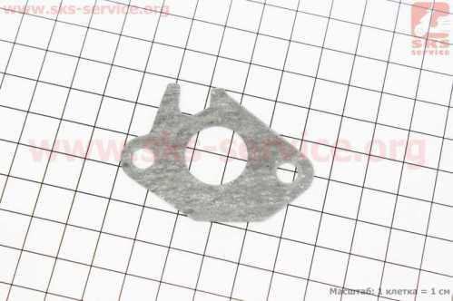 Прокладка патрубка карбюратора Honda DIO AF34/35 (безасбест)