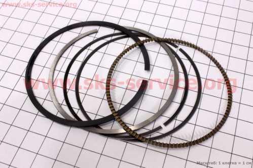 Viper - ZS250GS Кольца поршневые 69мм