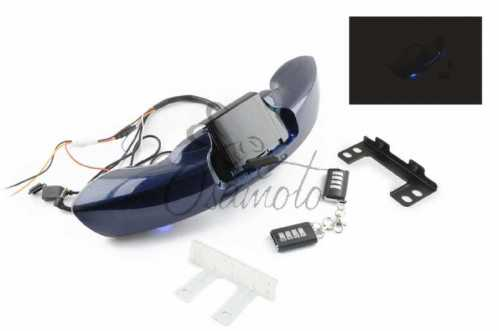 Аудиосистема траверсная (2, 2*5W синие,сигнализация, МР3/USB/SD, водонепрониц.) mod:MT610 NEO, шт