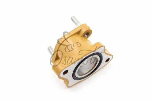 Патрубок карбюратора (коллектор) 4T CB 125/150 (желтый) NJK, шт