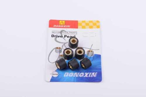 Ролики вариатора Honda 16*13 10,0г (черные) DONGXIN