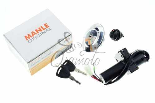 Замок зажигания (комплект) Yamaha YBR125 (+крышка бака)